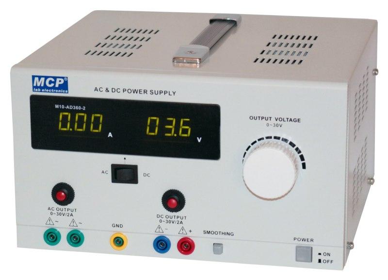 Laboratórny zdroj AD360-2 30V 2A AC DC 120VA 65573163124