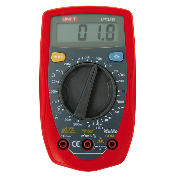 Multimeter UT33D